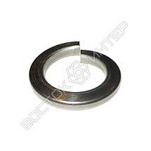 Шайба пружинная нержавеющая М20 DIN 127 | Размеры, вес, фото 3