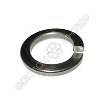 Шайба пружинная нержавеющая М10 DIN 127 | Размеры, вес, фото 2
