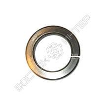 Шайба пружинная нержавеющая М10 DIN 127 | Размеры, вес, фото 3