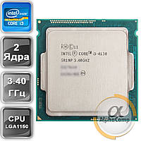 Процессор Intel Core i3 4130 (2×3.40GHz/3Mb/s1150) б/у