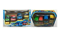 """Набор автобусов """"Тайо"""" JL 16012-1 (72) на батарейке, 4шт в коробке"""