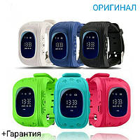 Умные детские часы Q50 c GPS трекером(+Гарантия), фото 1