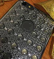Объемный силиконовый чехол 3D iPhone 6SPlus/6Plus, Space Gray