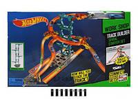 Детский автотрек Hot Whell 5771-5772, инерционного типа, 2 машинки в комплекте, коробка 56х7х36 см