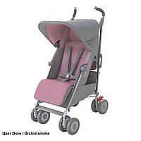 Коляска прогулочная Maclaren Techno XLR New Dove/Orchid Smoke, розовый/серый