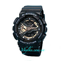Часы Casio G-Shock GA-110 SILVER & GOLD AAA