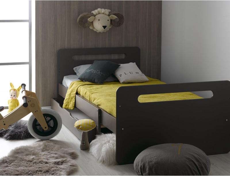 Кровать для подростка Junior Provence Lit Evolutif Feroe Taupe