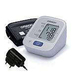 Тонометр автоматический Omron M2 Basic + адаптер + веерообразная манжета 22-42 см
