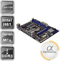 Материнская плата Asrock H61M-HGS (s1155/H61/2*DDR3)