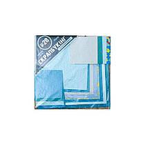 """Набор для творчества """"Скрапбукинг"""" №28 бумага 20х20см(16л), цвет бирюзовый 951145"""
