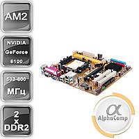 Материнская плата Asus M2NPV-VM (AM2+/GeForce 430/4xDDR2) БУ, фото 1