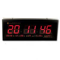 Часы  большие 3313RED (красные цифры)   .dr