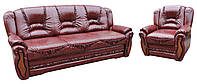 """Комплект кожаной мебели """"Васко"""". (3+1)"""