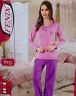 Турецкий хлопковый костюм пижама