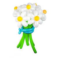 Букет из воздушных шариков, цветы из воздушных шариков. В букете 7  цветков