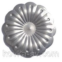 Цветок кованый 60х1,5 мм