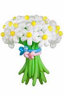 Букет из воздушных шариков, цветы из воздушных шариков. В букете 20  цветков