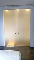 Стеклянные матовые двери: изготовление, установка