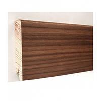 Плинтус деревянный (шпон) Kluchuk Neo Plinth Орех Американский 120х19х2200 мм.