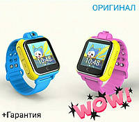 Детские умные часы Q200 GPS с камерой