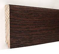 Плинтус деревянный (шпон) Kluchuk Neo Plinth Дуб Коньяк 120х19х2200 мм., фото 1