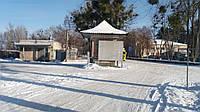 Продам два небольших здания на фасаде , г. Ирпень, ул. Покровская 1 ( недалеко от Камелота , БТИ)