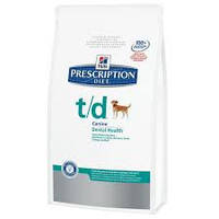 Hills Prescription Diet Canine T/D, 10 кг