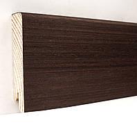 Плинтус деревянный (шпон) Kluchuk Neo Plinth Венге 120х19х2200 мм.