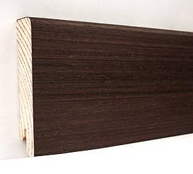 Плінтус дерев'яний (шпон) Kluchuk Neo Plinth Венге 120х19х2200 мм.