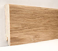 Плинтус деревянный (шпон) Kluchuk Neo Plinth Дуб натуральный 120х19х2200 мм.
