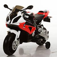 Мотоцикл детский JT 528E-3 BMW/БМВ, EVA колёса