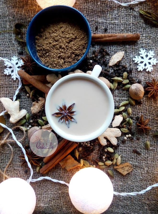 Масала чай ЭКСТРА, композиция отборных молотых пряностей для пряного чая с молоком, 35 грамм