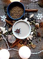 Масала чай ЭКСТРА, композиция отборных молотых пряностей для пряного чая с молоком, 35 грамм, фото 1