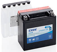 Аккумулятор сухозаряженный AGM 18Ah 230A EXIDE C57027F01-AEXCF - ETX20CH-BS