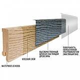 Плинтус деревянный (шпон) Kluchuk Neo Plinth Дуб шлифованный 120х19х2200 мм., фото 3