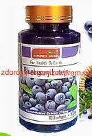 Капсулы мягкие Вытяжка из Черники 100 шт - Bilberry Lutein улучшение зрения, защита хрусталика