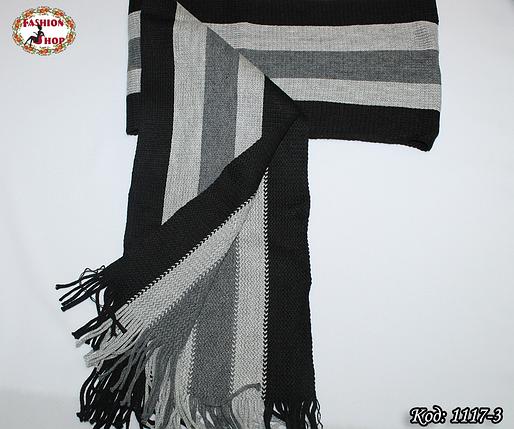 Мужской шарф Классика, фото 2