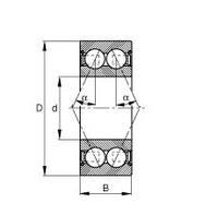 Подшипник MRC 5201SBZZ-1-L1-06A, 3201-ZZ