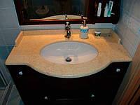 Столешницы для ванной комнаты из натурального камня