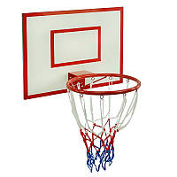 Гр Щит баскетбольный (1) кольцо d-32см, с сеткой