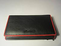 Женский кошелек из натуральной кожи Alessandro Paol черный