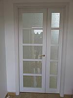 Двери полуторные межкомнатные, деревянные изготавливаются  под заказ по индивидуальным размерам.