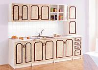 Кухонный гарнитур Альбина, готовая кухня эконом класса