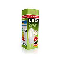 EUROLAMP LED Лампа G4 пластик 2W 3000K 220V