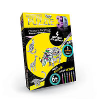 Набор для творчества Puzzle 3D Antistress Животные АР4-01-12