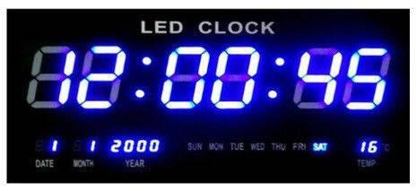 Часы 2316-4blue (синие цифры)   .dr, фото 2