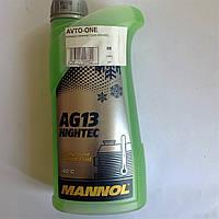 Антифриз зеленый 1 литр MANNOL