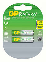 Аккумуляторы GP Batteries AAA (R03) 850mAh NiMh 2шт ReCyko+