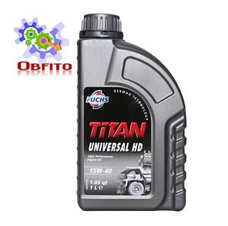 """Масло моторное минеральное """"TITAN UNIVERSAL HD SAE 15W-40"""", 1л"""