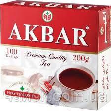 Чай Акbаr пакетированный 100Х2 гр